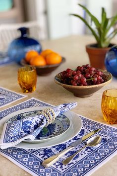 Handcrafted in India, our Hathi Elephant print takes you off to somewhere warm and exotic. The playful elephants liven up your table setting and add a bold touch. Printed Napkins, Napkins Set, Place Settings, Table Settings, Elephant Table, Elephant Print, Tablescapes, Serving Bowls, Decorative Bowls