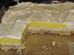 The Snyder Family Cookbook: LEMON LAYER DESSERT