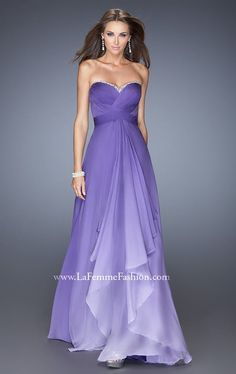 La Femme 19686 Dress - MissesDressy.com