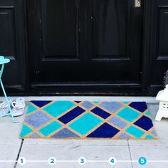 Creative Uses For Painter's Tape #rug #creative #DIY