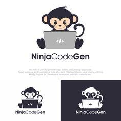 Ninja Coder Logo design (ver.2)