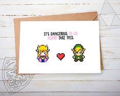 Hey, diesen tollen Etsy-Artikel fand ich bei https://www.etsy.com/de/listing/260649341/romantische-gamer-grusskarte-zelda-its