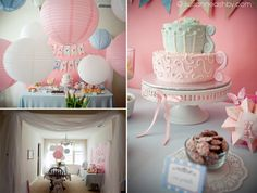 Tea Party Birthday Party Ideas | Photo 1 of 18 | Catch My Party