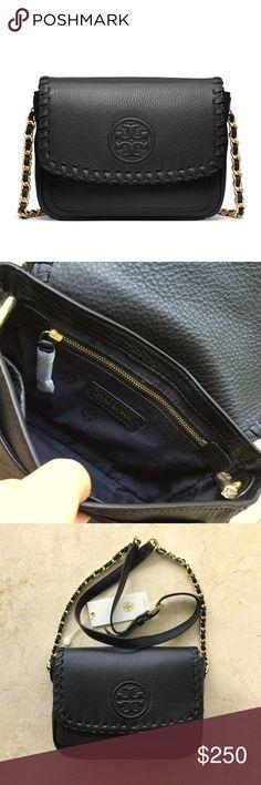6fab5348b7a Tory Burch Marion Mini Bag in Black Tory Burch Marion Mini Bag Authentic
