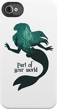 i freaking love this. little mermaid is my favorite disney movie!