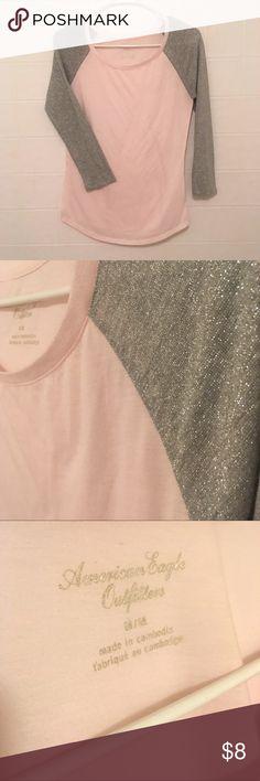 Brandy melville light gray long sleeve ribbed Maryanne  Turtleneck Top NWT New