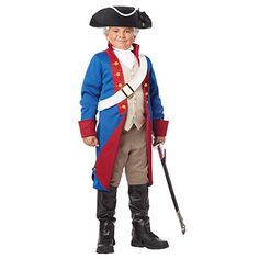 Boys George Washington Costume  Boys American Patriot Costume #georgewashington #presidentsday #costumekingdom