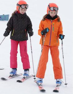 Spanish Royal Family at Astún Ski Center of Huesca