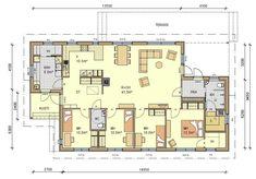 Planer, House Plans, Floor Plans, Cottage, Exterior, Flooring, How To Plan, Architecture, Building
