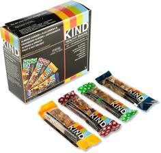 KIND Mini Bars via REI. We love snacks.