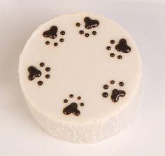 DOG natural Birthday Cake