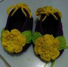 Made by order baby shoes #purple #green #yellow