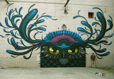 A couple weeks back Jeff Soto flew out to Richmond, VA for their street art festival to do some mural action. Artists included the likes of Hense, Richard Colman, Dalek, Hamilton Glass, and many more.