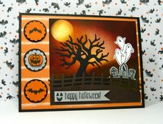 Spooky Fun by dahlia19 - Cards and Paper Crafts at Splitcoaststampers