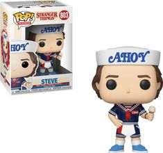 Funko POP! Television: Stranger Things - Steve w/Hat and Ice Cream - Walmart.com