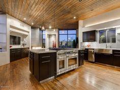 33 Modern Kitchen Islands (Design Ideas) - Designing Idea Modern Kitchen Island, Cozy Kitchen, Modern Kitchen Design, Home Decor Kitchen, Kitchen Islands, Layout Design, Design Ideas, Office Color, Kitchen Cabinets Drawing