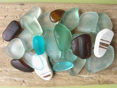 Sea glass mix Scottish sea glass beach pottery by SewISea