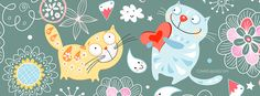 Cats True Love Facebook Cover CoverLayout.com