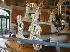 Budapest, Korhinta White Carousel Chariot ~ Restored
