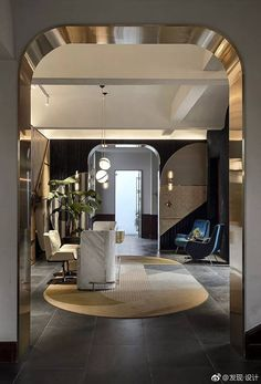 Hotel interior design - Discover The Most Incredible Top 20 Interior Designers From L A – Hotel interior design Home Luxury, Luxury Homes Interior, Best Interior, Lobby Interior, Modern Interior Design, Interior Architecture, Luxury Houses, Hotel Room Design, Lobby Design