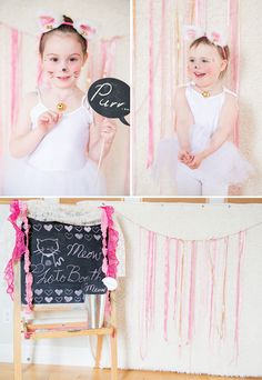 Darling Pretty Pink Kitty Cat Birthday Party