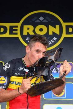 101th Tour of Flanders 2017 / Men  Podium / Philippe GILBERT / Celebration / Antwerpen Oudenaarde / Ronde van Vlaanderen / RVV /