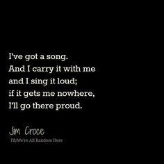 Jim Croce - I Got a Name - 1973 Album= I Got a Name  Song  Lyrics