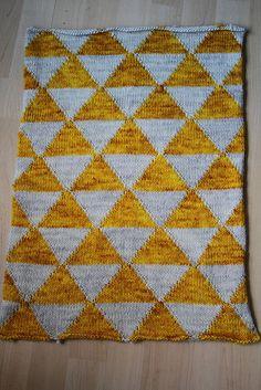 baby blanket in madelinetosh