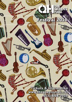 The Queen's Hall - Festival 2014 Season Brochure Cover - click to download PDF
