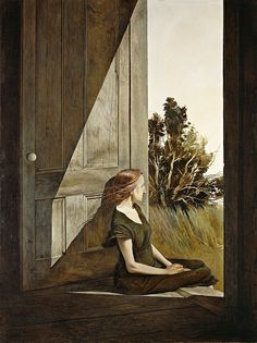 An exhibition at the Wadsworth Atheneum Museum of Art offers visitors a chance to gain a new perspective on Andrew Wyeth, who died in Andrew Wyeth Paintings, Andrew Wyeth Art, Jamie Wyeth, Renaissance Paintings, A Level Art, Watercolor Sketch, American Artists, American Realism, Painting Inspiration