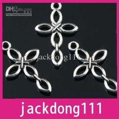 Wholesale Free ship tibetan silver cross charms pendant 28x17mm, Free shipping, $0.1/Piece | DHgate