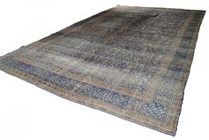 Revision Home Chicago - VINTAGE PERSIAN CARPET, $1,495.00 (http://www.revisionchicago.com/vintage-persian-carpet/)