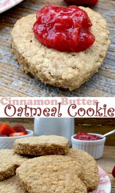 Deliciously moist and cakey oatmeal cookies with just the right amount of cinnamon and sweetness.
