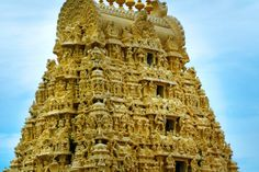 One of the holy cities in Tamil Nadu, Kanchipuram is said to shower salvation. It is home to over a hundred temples with Ekambareswarar Temple being the largest.