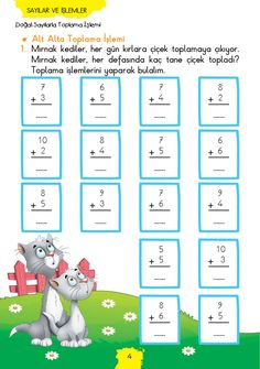 1. Sınıf Konu Anlatım MATEMATİK FASİKÜLLERİ 1st Grade Math, Grade 1, First Grade, Teaching Addition, Addition And Subtraction, English Grammar, Fun Math, Letters And Numbers, Pre School