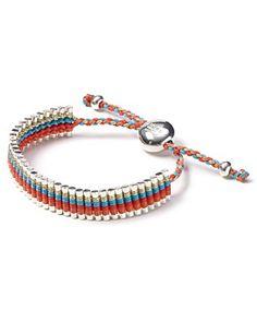 What a beautiful friendship bracelet!