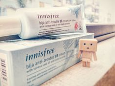 Innisfree bija-anti trouble bbcream. I'm currently using this bbcream and it really works out for my oily skin. It has middle coverage and a unique skin tone. However, with an extra compact matches perfect :) I'll definitely re buy it :)