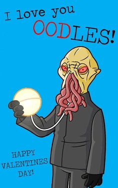 AHHH!!! Hahaha the ood Valentine!!! =D I have a Dr Who problem...