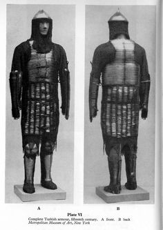 15th Century Ottoman Armour, at the Metropolitan Museum of Art, NYC, USA. More photos: http://s257.photobucket.com/user/nnnm10/media/fc6a1f7e0db7ef42db62b6436d5b145c.jpg.html Museum website: www.metmuseum.org/