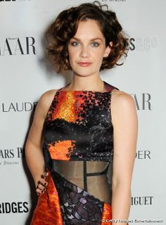 Ruth Wilson attended the Harper's Bazaar Women of the Year Awards with a high-volume curly hairstyle on 5 November 2013 in London.