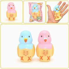 Kiibru Squishy Parrot Slow Rising Original Packaging Animal Pet Collection Gift Decor Toy Sale - Banggood Mobile
