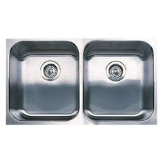 Blanco 440258 Spex Plus Equal Double Undermount Kitchen Sink, Stainless Steel *** You can find more details by visiting the image link. #AllAboutKitchen