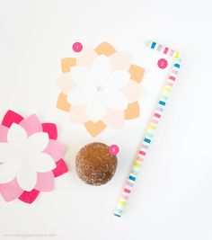These donut hole flower pops are easy to make, kid-friendly, and the perfect addition to your Spring party or Mother's Day brunch!