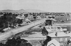Mudgee in New South Wales in 1900.