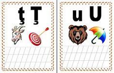 JUCARII PENTRU COPII: ALFABETUL IN IMAGINI Kids And Parenting, Grammar, Activities, House Beautiful, Bebe, 1st Grades