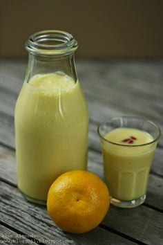 Koktajl Mandarynkowy / Mandarin Smoothie (raw vegan)