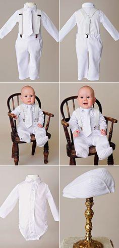 Payton Suspender Christening Outfit Boy Baptism Outfit Blessing Outfit - One Small Child Baptism Clothes For Boy, Baby Boy Baptism Outfit, Baby Christening, Baby Boy Outfits, Baptism Outfits For Boys, Christening Clothes Boy, Outfit Bautizo, Baptism Photos, Baptism Ideas
