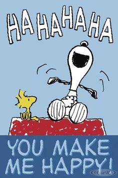 Miss You Snoopy | Peanuts Postkarte you Make me ...
