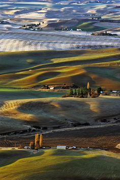 ✯ Palouse Frosty Sunrise