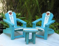Miniature Dollhouse, Seaside Beach, Sunroom, Outdoor Furniture, Table  Settings, Outdoor Living, Porch, Garden Furniture Outlet, Outdoor Life